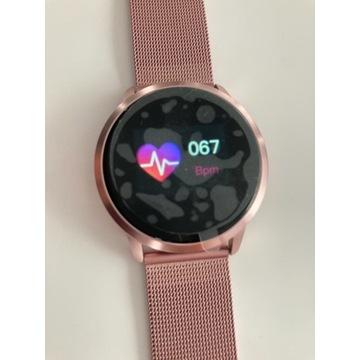 Smart Watch - Nowy - bransoleta Różowa