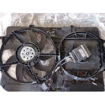 Sterownik wentylatorów+wentylatory Audi A4B82.0TDI