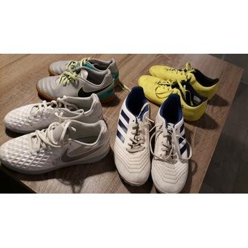 Buty halowe turfy nike adidas Rozm. 33.5 do 37 1/3