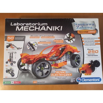 Laboratorium mechaniki - klocki + GRATIS