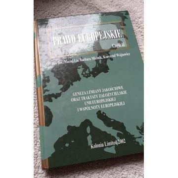 Jan Boć i inni. Prawo europejskie. Część 2.