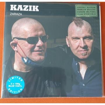 Kazik - Zaraza. 2 LP. Niebieski Limit. Winyl