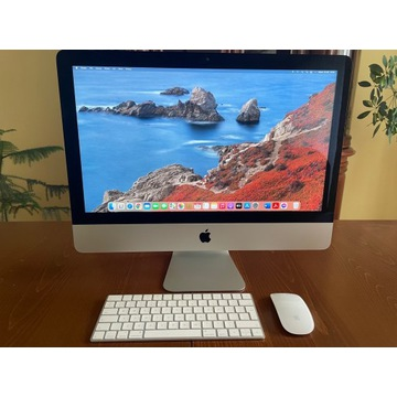 """iMac 21.5"""" late 2015 stan idealny (igła)"""