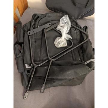 Harley Davidson sakwy uchwyty plecak stelaże