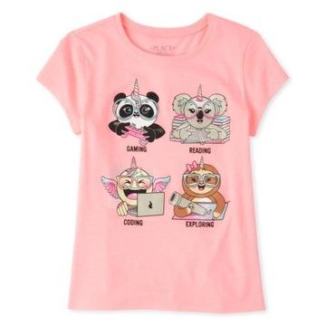 Childrens Place bluzeczka Pandacorn 7-8lat