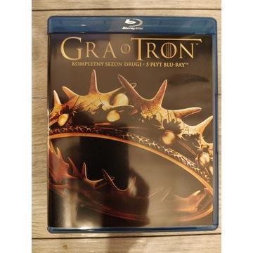 Gra o Tron sezon 2 Blu-ray