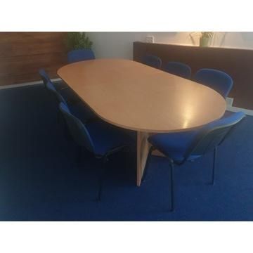 stół konferencyjny 120x240cm