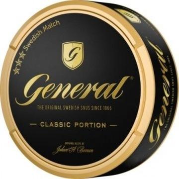 General pudełka kolekcjonerskie od snus