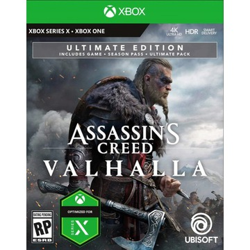 Assassin's Creed Valhalla Ultimate Edition PL XBOX