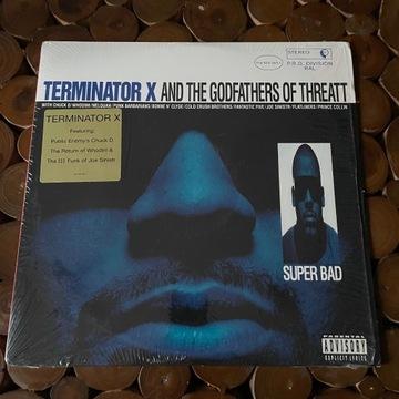 Terminator X  - Super Bad 2LP (94r) / Public Enemy