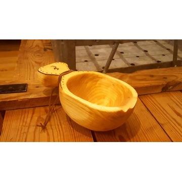 Kuksa fińska Ręcznie robiona Handmade Bushcraft