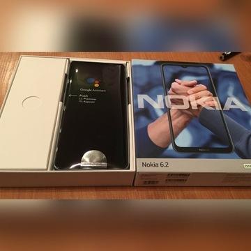 Nokia 6.2 srebrny