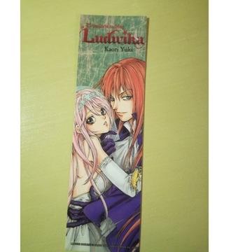 Zakładka anime manga Rewolucja według Ludwika