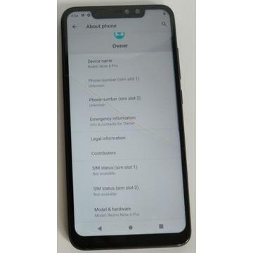 Xiaomi Redmi Note 6 Pro 4/64 (Android 10)