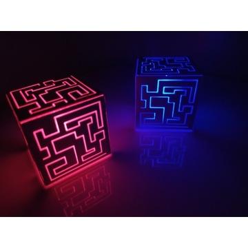 Kostka sci-fi LED