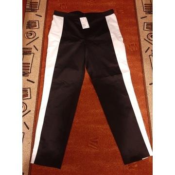 Spodnie czarno - białe