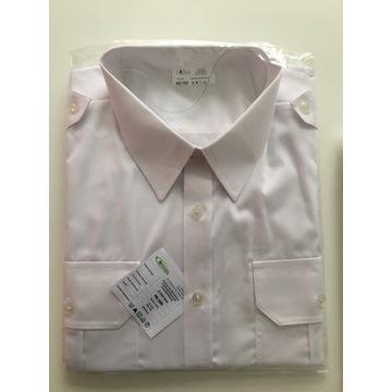 Koszula biała służbowa krótki rękaw