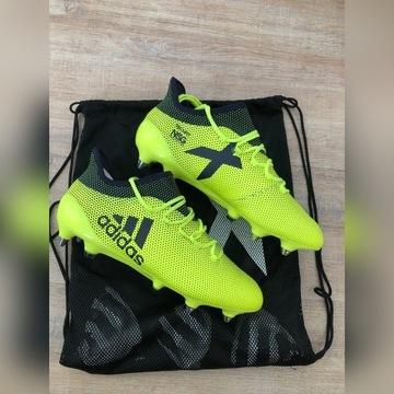 Adidas X 17.1 SG Buty piłkarskie roz. 42 + dodatki