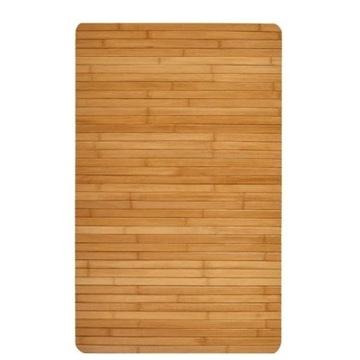 Solidna Drewniana Mata Podłogowa 50 x 80 cm 053