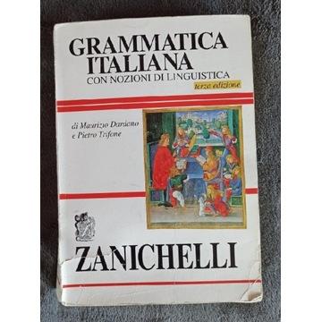 Grammatica Italiana ZANICHELLI, filologia włoska