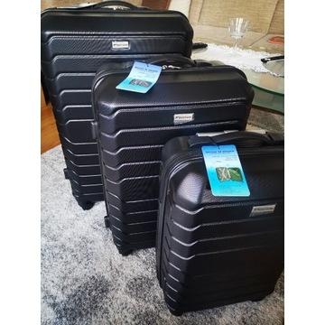 Zestaw 3 walizek na kółkach nowe okazja