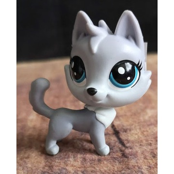 Littlest Pet Shop LPS husky