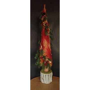 Choinka, boże narodzenie, dekoracja świąteczna