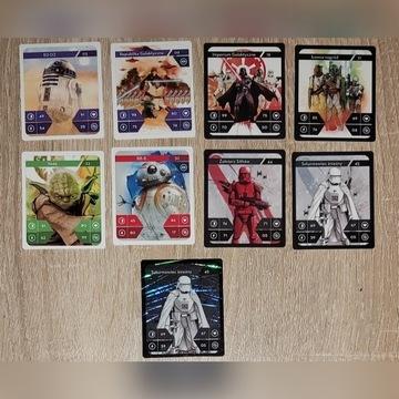 Kaufland star wars karty zwykłe i hologram
