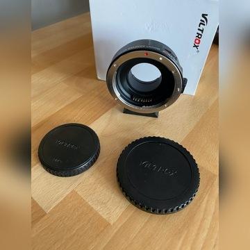 Viltrox EF-M1 Adapter Canon EF do MFT GH5 Lumix