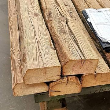 Stare drewno deski na ścianę z rozbiórki stodoły