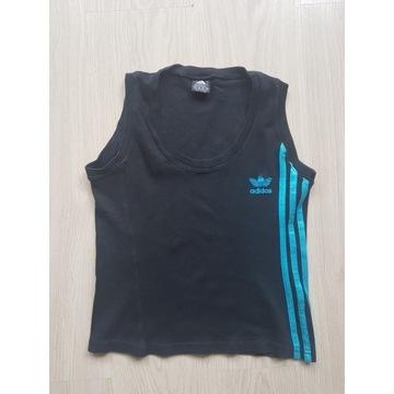 Koszulka Slim-Fit ADIDAS bawełniana na ramiączkach