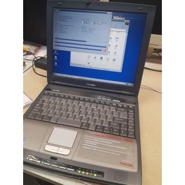 Laptop retro toshiba 1800 . Win95,98,xp.