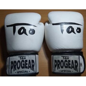 Rękawice bokserskie skórzane TAO PROGEAR Specjal