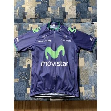 Strój rowerowy Movistar M