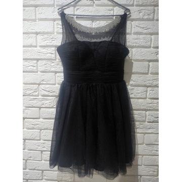 Sukienka czarna wesele/studniówka