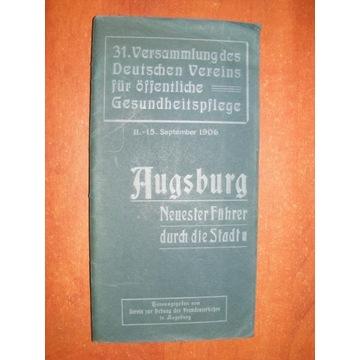STAUBER - AUGSBURG PRZEWODNIK TURYSTYCZNY 1906