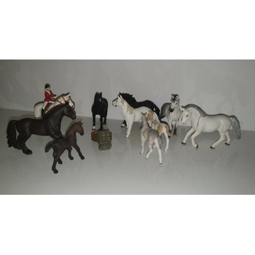 Konie Schleich 10 szt