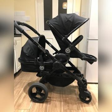 Wózek Icandy peach 3 dla dzieci rok po roku