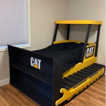 Łóżko koparka CAT 160x80