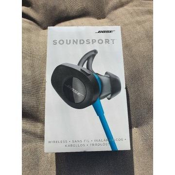Bose Soundsport Wireless GW 24m Nowe Niebieskie