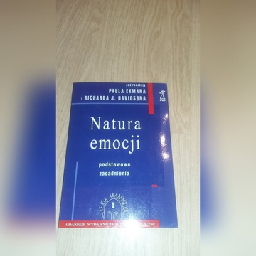 Natura emocji Paul Ekman Psychologia emocji