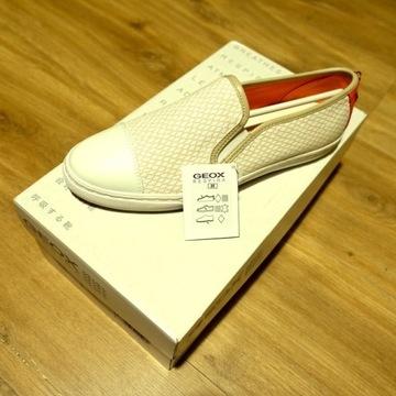 Buty damskie GEOX New Club Sneakers r.38 254mm