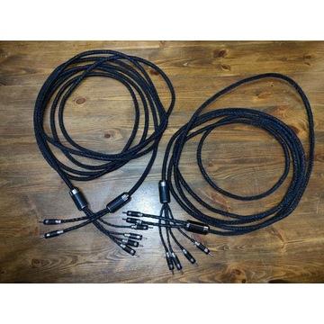 para kabli głośnikowych 2x5,5m DIY bi-wire