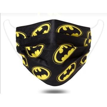 Batman maseczka ochronna młodzieżowa dorosła