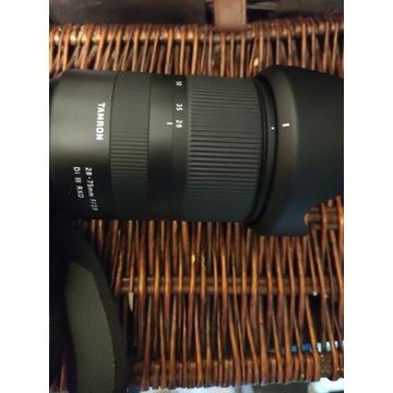 Tamron 28-75 f 2.8RXD Sony Fe a7 III prawie nowy