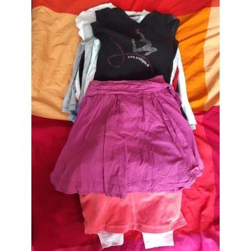 Paczka ubranek dla dziewczynki 110-116