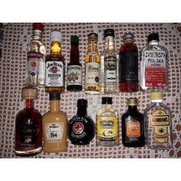 Miniaturki, Buteleczki, Kolekcja - 104szt.