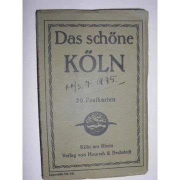Das schone Koln 20 Postkarten (ok. 1939)