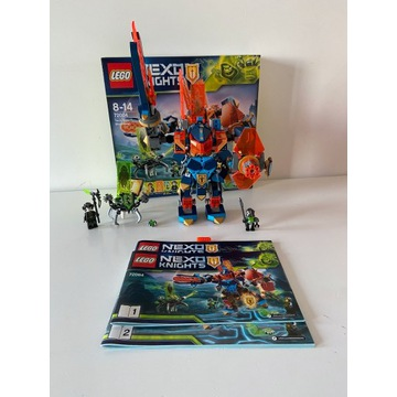 Lego Nexo Knights 72004 - Tech Showdown + GRATIS