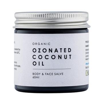 BIO Ozonowany Olej Kokosowy Ozonowa Maść